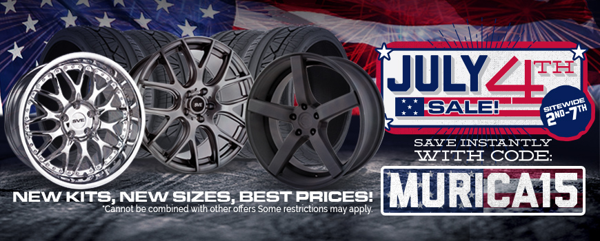 July 4th Mustang Wheels Sale!
