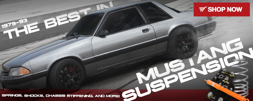 Mustang Top Suspension Mods