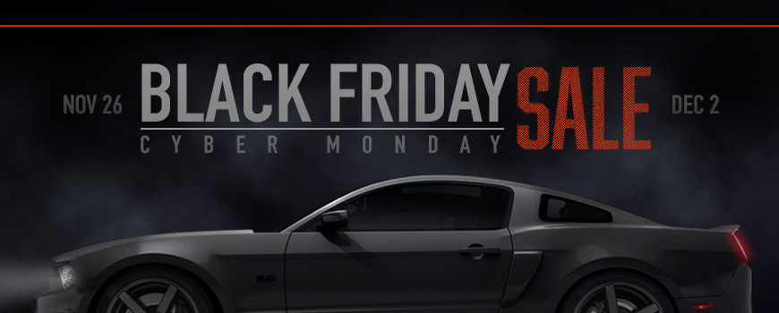 Mustang Black Friday Sale