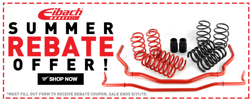 Eibach Summer Rebate!