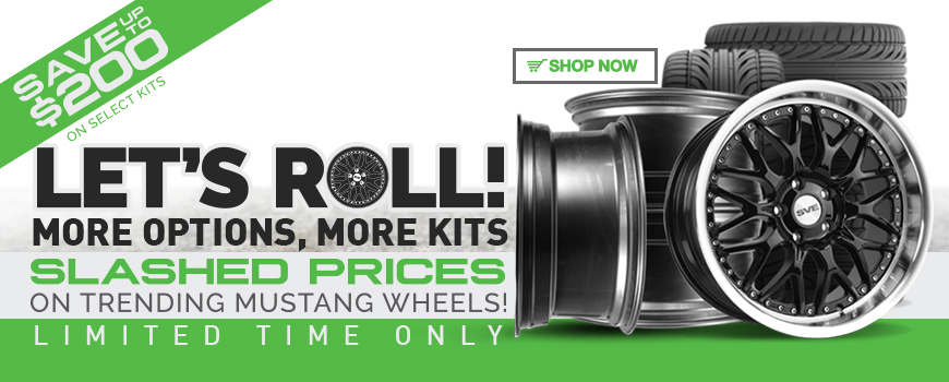 Mustang Wheels On Sale!