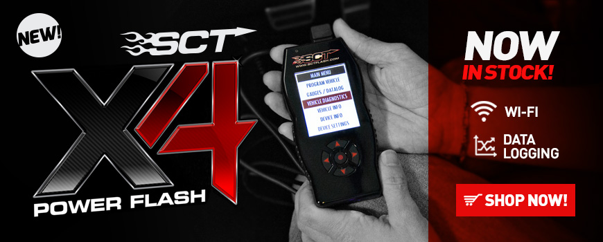 SCT X4 Power Flash Mustang Tuner