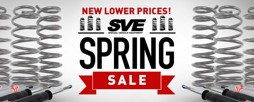 SVE Lowering Springs